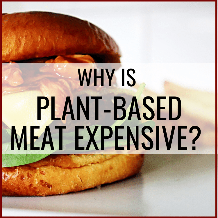 why is plant based meat expensive